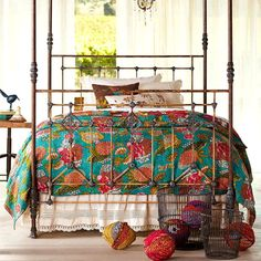 Take a look at this Dreamy Bohemian Textiles event today!