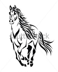 cheval tribal