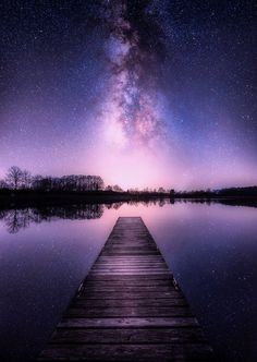 Pier to the Stars by Johannes Nollmeir