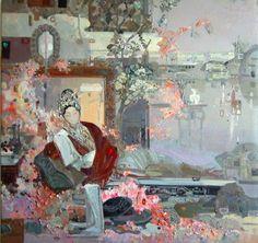 中国油画:人物系列画《国粹》