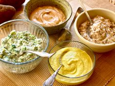 This spicy cream turns a warm sweet potato into a party. Try it on sautéed chicken breasts or broiled lamb patties, or use it as a quick dip for sweet apple wedges or savory broccoli florets.