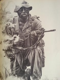 301 Batteljon Military Art, Military History, Art Assignments, Military Special Forces, Vietnam War Photos, Tactical Survival, Modern Warfare, Love Art, Black And White