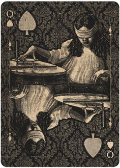 Dead on Paper Oracle Playing Cards