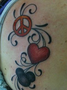 My tattoo - definitely one of my favorite things.