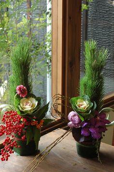 flower arrangement for New Year