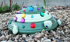 Make Your Own Garden Turtle