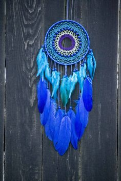 Dream Catcher Dreamcatcher Dreamcatcher Blue Boho Decor