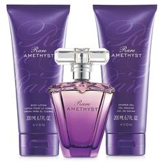 Glamorous and captivating, this sensual jewel of passionate plum shimmers with mysterious violet and rich sandalwood. A $40 value, the set includes:Eau de Parfum Spray – 1.7 fl. oz. a $23 value.Shower Gel – 6.7 fl. oz. An $8.50 value.Body Lotion – 6.7 fl. oz. An $8.50 value.Top Note: Wet PlumMiddle Note: Blooming VioletBottom note: Addictive Sandalwood