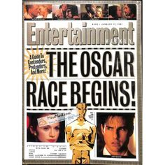 Cover Print of Entertainment Weekly, January 17 1997 | $8.80