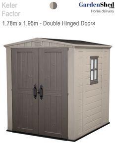 keter factor 66 178m x 195m free sherwood box httpgardenshed - Garden Sheds 6 X 2