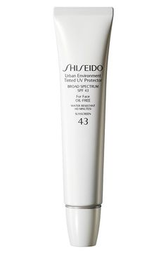 Shiseido 'Urban Environment' Tinted UV Protector Broad Spectrum SPF 43 available at #Nordstrom