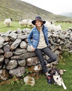 We're Swooning Over J.Crew's Holiday Shoot in Ireland | WhoWhatWear
