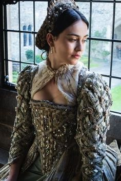 Medieval and Renaissance Dresses - Historical Dresses Mode Renaissance, Costume Renaissance, Renaissance Fashion, Renaissance Clothing, Steampunk Clothing, Elizabethan Dress, Elizabethan Fashion, Tudor Fashion, Medieval Dress