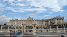 El Palacio Real. Madrid, España.