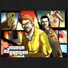 T-shirt Joueur du Grenier GTA Style