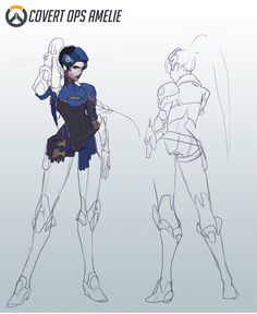 ☾ Tomorrow is Mine ☽ — Designing a Widowmaker Skin where she never became...
