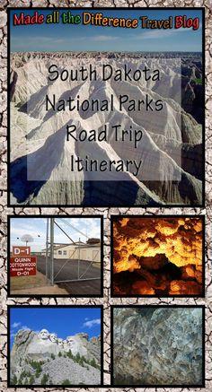 South Dakota National Parks Road Trip Itinerary