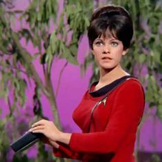 "Yeoman Leslie Thompson (Julie Cobb) from the episode ""By Any Other Name""--the only female redshirt to be killed in action in the original series."