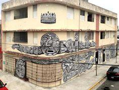 Zio Ziegler - Santurce Es Ley Calle Cera, Puerto Rico - unurth | street art