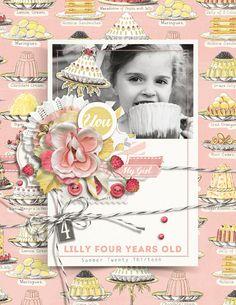 A La Mode Collection Biggie Digital Scrapbooking Kit by Brandy Murry | ScrapGirls.com