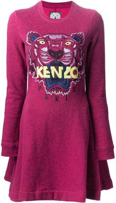 72e1d76ae5980 Kenzo tiger sweater dress on shopstyle.com