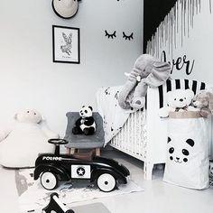 Home is here,babyyy♡♡♡ Big Girl Rooms, Boy Room, Nursery Room Decor, Kids Bedroom, White Kids Room, Scandinavian Kids Rooms, Small Room Organization, Cute Furniture, Monochrome Nursery