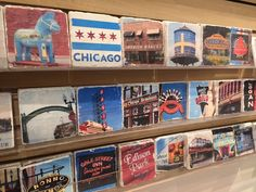Marble coasters by Reformado Photography feature images of landmarks from neighborhoods throughout the city of Chicago. Available at Local Goods Chicago.