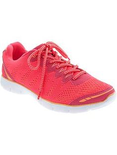 Cute, comfortable running shoes at great price; my daughter has had a pair for a year and runs most every day on them...at this price, no less.  On sale now...