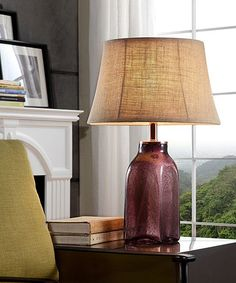 Look what I found on #zulily! Amberlei Table Lamp #zulilyfinds
