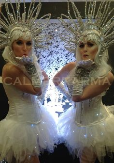 Winter Kisses the ultimate canape hostess for all winter wonderland event, winter weddings or Christmas parties. Make your canape entrance work with your theme Wonderland Events, Winter Wonderland Party, Candy Costumes, Corporate Entertainment, Ice King, Christmas Parties, Winter Weddings, Fun Events, London Wedding