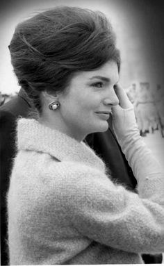 Jackie Kennedy - a woman of great intelligence, style and poise under pressure.