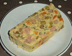 Terrine de thon à la macédoine Chez Vanda, Croissant, Hawaiian Pizza, Buffet, Picnic, Menu, Breakfast, Quiches, Cakes