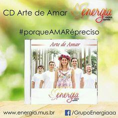 CD Arte de Amar - Grupo Energia - Música Espírita