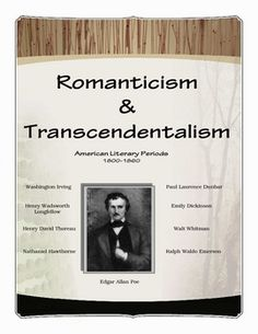 This 30-page package contains worksheets, research activities, graphic organizers, and answer keys. Nine American writers of these periods are studied: Emily Dickinson; Paul Laurence Dunbar; Ralph Waldo Emerson; Nathaniel Hawthorne; Washington Irving; Henry Wadsworth Longfellow; Edgar Allan Poe; Henry David Thoreau; and Walt Whitman. Rhetorical devices/literary terms are also examined through worksheets that can be used as prescriptive and test prep activities.