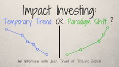 Impact Investing: Temporary Trend or Paradigm Shift? - Trilinc Global
