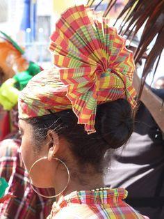 Coiffe créole - Guadeloupe