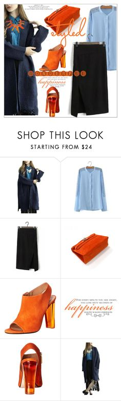 """""""Pack and Go: London"""" by selmir ❤ liked on Polyvore featuring Calvin Klein Collection, women's clothing, women, female, woman, misses, juniors, Packandgo and yoins"""