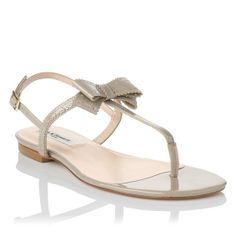 Bondi Patent Leather Flat Sandal | Shoes | Sale | Collections | L.K.Bennett, London