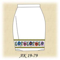 Заготовка к юбке АК 19-79