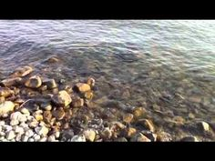 Calming sounds of The Sea Of Galilee - where Jesus walked on the water