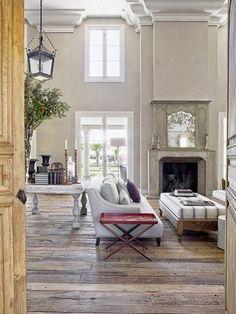 flooring that anchors the high ceilings                           Splendid Sass: