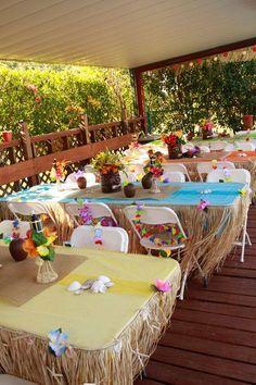 Fiesta infantil tematica de moana hawaiana http://tutusparafiestas.com/fiesta-infantil-tematica-moana-hawaiana/ Hawaiian Moana Theme Children's Party #Fiestainfantiltematicademoanahawaiana #fiestasdeniñas #Fiestasinfantiles #Ideasparafiestas