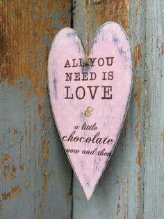 #heart #chocolate #love #vintage #FidArt #decupage Music Instruments, Chocolate, Love, Heart, Handmade, Diy, Vintage, Crafts, Amor