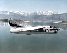 "The 1975 Ling-Temco-Vought (LTV)-produced promotional film ""The Attack Fighter"" features both the Navy's and the Air Force's Corsair II tactical jets. The Short Little Ugly F*cker (SLUF) was developed from the Navy's Military Jets, Military Aircraft, Fighter Aircraft, Fighter Jets, War Jet, Us Navy Aircraft, Navy Marine, Vintage Airplanes, United States Navy"