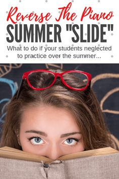 "What should you do if your piano students didn't practice during your summer break? Here's 5 tips for reversing the ""summer slide"" Music Ed, Piano Music, Piano Teaching, Teaching Tools, Piano Games, Summer Slide, Teaching Techniques, Movement Activities"