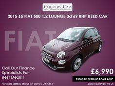 Spend less on a used Fiat for sale in Warwick. At Country Car you'll find a superb range of quality used cars on our forecourt. Used Fiat 500, Fiat Cars, Fiat Abarth, Amazing Cars, Supercar, Used Cars, Cars For Sale, Classic Cars, Automobile