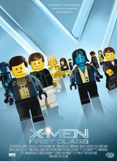 20 Posters De Películas Del 2010 - 2011 Recreados Con Legos  parodias arte  original