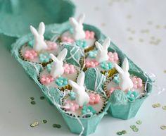 Mini bunny cakes   Flickr - Photo Sharing!
