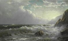 Off the Coast of Cornwall, 1904, William Trost Richards