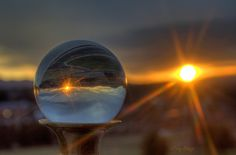 Sunset Gazes Into The Crystal Ball - Roanoke VA Photography Terry Aldhizer